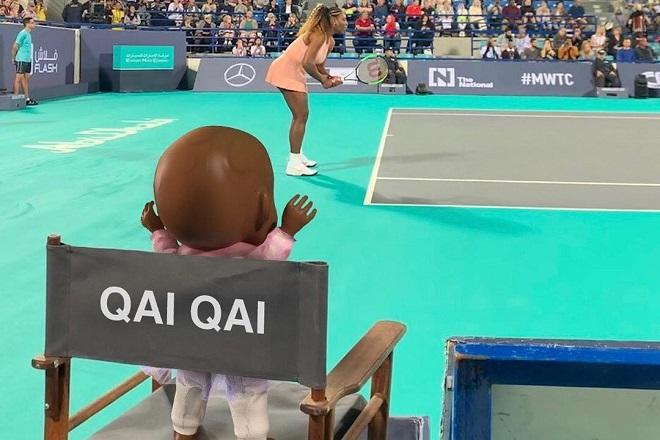 Qai Qai: Η κούκλα της κόρης της Σερένα Ουίλιαμς με τους πάνω από 100.000 followers