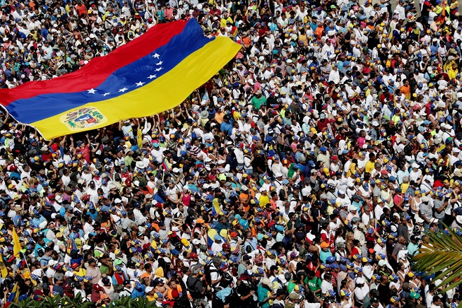 Γκουαΐδό: «Η αλλαγή στη Βενεζουέλα είναι πολύ, πολύ κοντά»