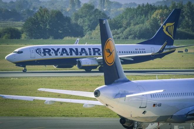 Η Ryanair έχασε το 80% των πελατών της σε ένα εξάμηνο λόγω Covid