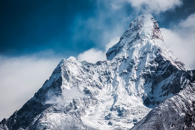 ama-dablam himalaya ice mountain cold snow