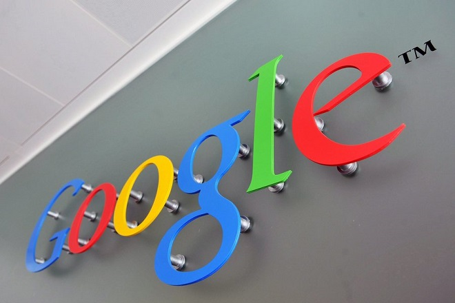 epa04879557 (FILE) A file photograph dated 10 April 2008 shows the Google logo at the Belgrave House in central London, Britain. Google on 10 August 2015 announced in a blog post that it will create a new parent company named Alphabet within the scope of Google's major restructuring.  EPA/DANIEL DEME *** Local Caption *** 50331435