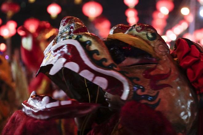 Κινεζική Πρωτοχρονιά: Εορτασμοί για την έλευση της χρονιάς του χοίρου (Φωτογραφίες)