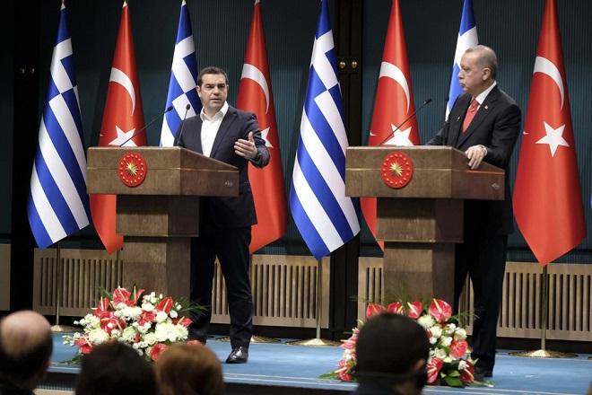 Τα έξι βασικά σημεία της συνάντησης Τσίπρα – Ερντογάν