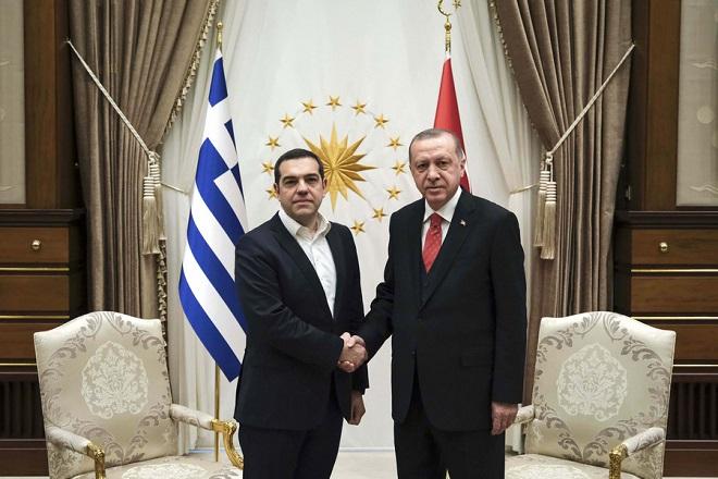 Καρέ-καρέ η συνάντηση Τσίπρα-Ερντογάν στο Λευκό Παλάτι