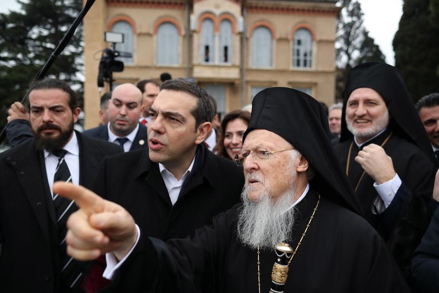 Greek Prime Minister Alexis Tsipras visits Turkey