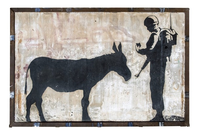 Street Art featuring Banksy to be auctioned at Julien's in Beverly Hills