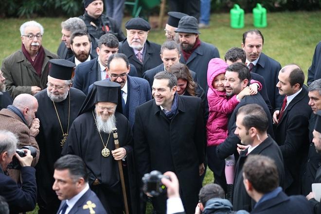 Τσίπρας: Η επαναλειτουργία της Θεολογικής Σχολής στη Χάλκη είναι μήνυμα αδελφοσύνης