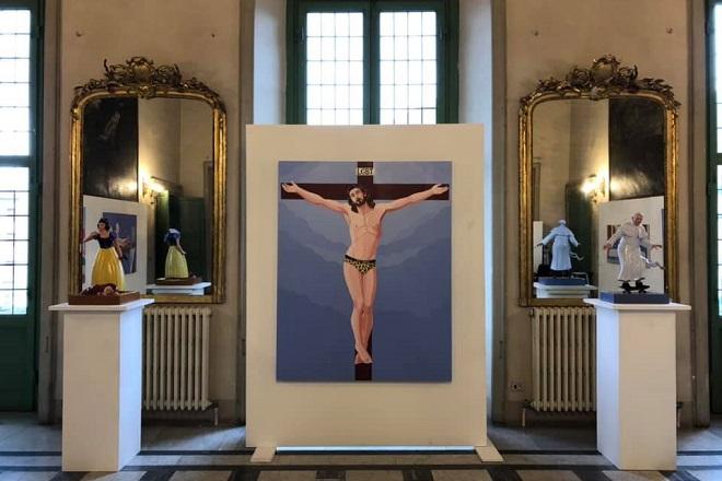 ΑΠΕ jesus christ lgbtq painting
