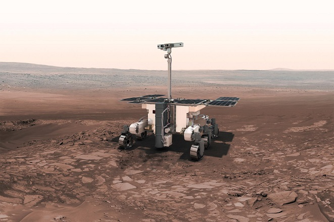 Το «Ρόζαλιντ Φράνκλιν» ετοιμάζεται για το ταξίδι του στον Άρη