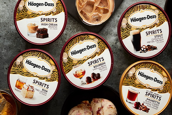 Häagen-Dazs spirits ice cream 2