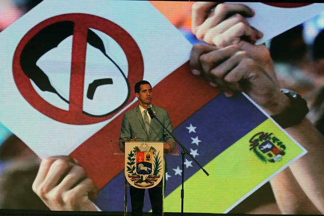 Βενεζουέλα: Διατεθειμένος να επιτρέψει στρατιωτική επέμβαση των ΗΠΑ ο Χουάν Γκουαϊδό