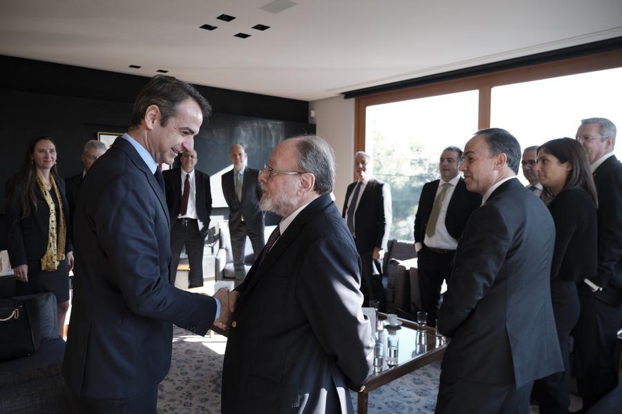 Πρόταση Μητσοτάκη για αλλαγή της ατζέντας των ελληνογερμανικών οικονομικών σχέσεων