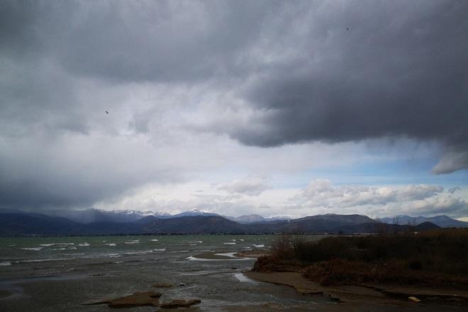 Σύννεφα καταιγίδας πάνω από το Ναύπλιο, Τρίτη 12 Φεβρουαρίου 2019. ΑΠΕ-ΜΠΕ /ΑΠΕ-ΜΠΕ/ΜΠΟΥΓΙΩΤΗΣ ΕΥΑΓΓΕΛΟΣ