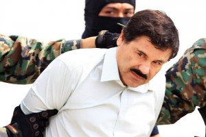 epa05732576 (FILE) - An undated file picture shows Mexican drug lord Joaquin 'El Chapo' Guzman, after been recaptured in 2014, and presented by the authorities, in Mexico City, Mexico. Guzman was extradited to the United States, according to a report by the Mexican government on 19 January 2017. Guzman is wanted in Arizona, California, Texas, Illinois, New York, Florida and New Hampshire on a range of charges, including criminal conspiracy, racketeering and money laundering.  EPA/MARIO GUZMAN