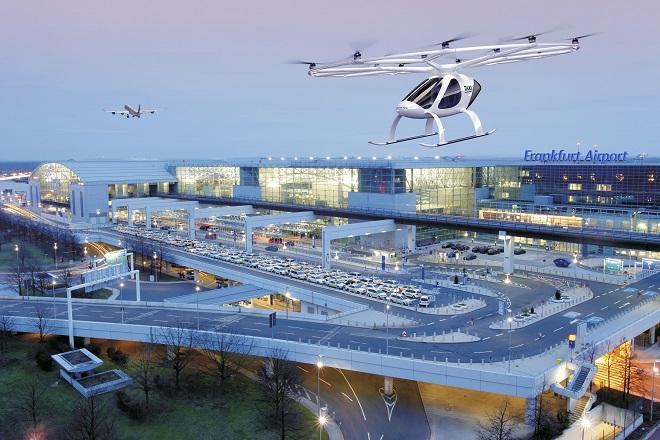 Η Fraport θέλει να φέρει εναέρια ταξί στο αεροδρόμιο της Φρανκφούρτης