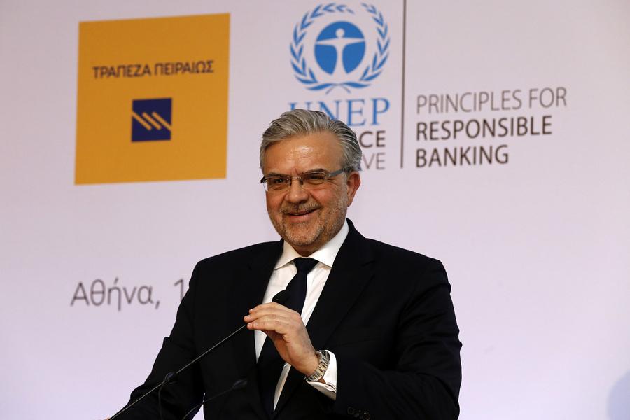 Μεγάλου: Προχωράμε δυναμικά στην εξυγίανση του ισολογισμού του ομίλου Τράπεζας Πειραιώς