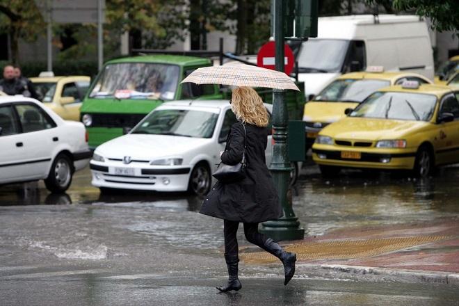 Άστατος ο καιρός: Με βροχές και μπόρες οι πολίτες στην κάλπη