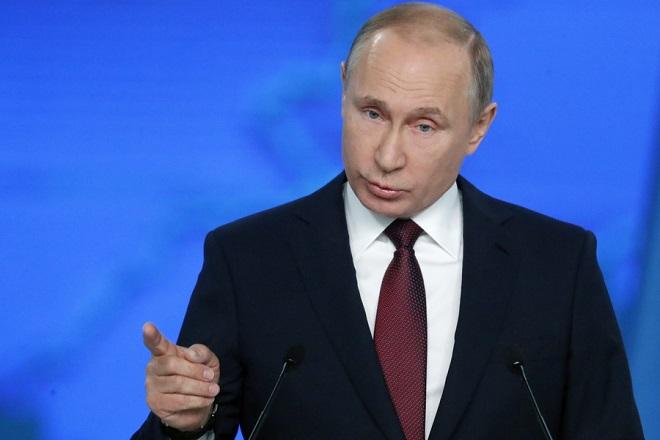 Ευθεία απειλή Πούτιν στις ΗΠΑ: Θα σας βάλω στο στόχαστρο αν…