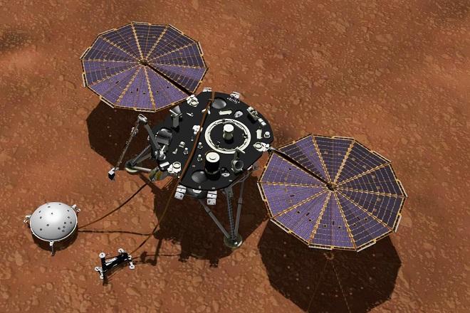 InSight+(καλλιτεχνική+απεικόνιση)+Πηγή+NASA-JPL-Caltech