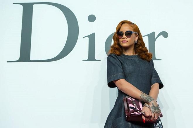 Συνεργασία του ομίλου LVMH με τη Rihanna για το λανσάρισμα νέου εμπορικού σήματος