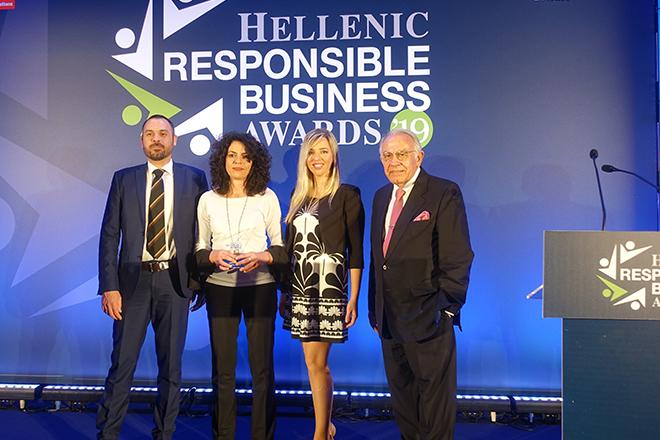 """KPMG: Αργυρό βραβείο για την κατηγορία """"Ψηφιακή Εκπαίδευση και Δεξιότητες"""" στα Hellenic Responsible Business Awards"""