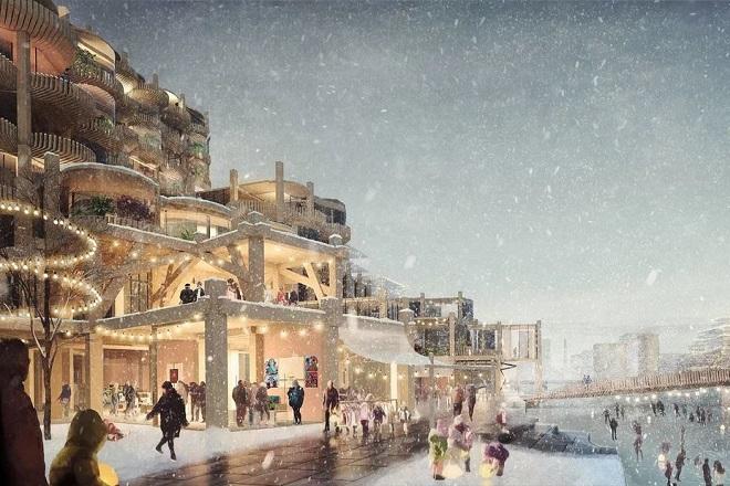Sidewalk Labs: Η πρώτη «έξυπνη» πόλη της Google- Αποκαλύφθηκαν οι πρώτες εικόνες