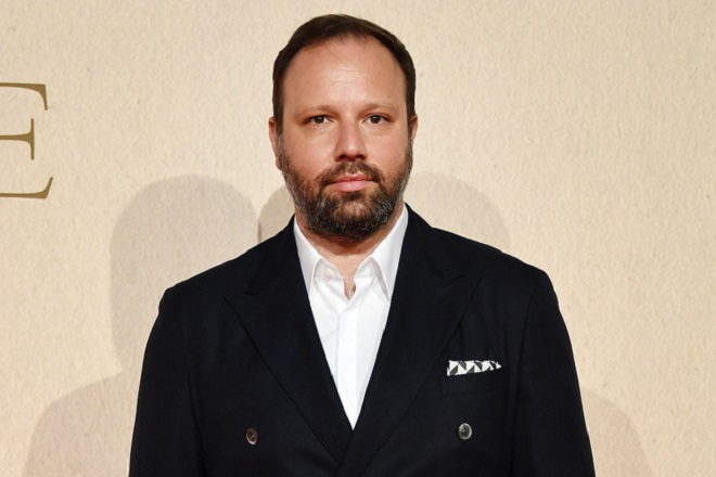 epa07103055 Greek film director Yorgos Lanthimos attends the premiere of his movie 'The Favourite' during the BFI London Film Festival 2018, in London, Britain, 18 October 2018. The festival runs from the 10 to 21 October.  EPA/ANDY RAIN
