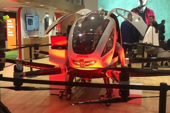 Έρχονται τα αεροταξί drones- Θα μεταφέρουν επιβάτες χωρίς οδηγό (Βίντεο)