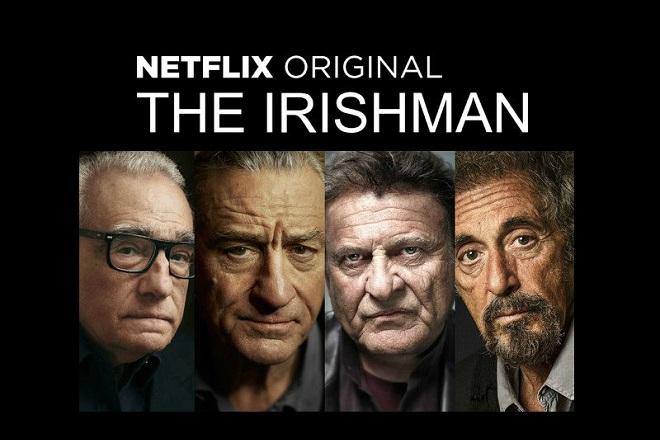 Ντε Νίρο, Πατσίνο και Σκορτσέζε μαζί, στη νέα ταινία του Netflix