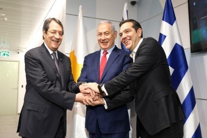 Στα Ιεροσόλυμα ο Τσίπρας για τη Σύνοδο Κορυφής Ελλάδας- Κύπρου- Ισραήλ με τη συμμετοχή Πομπέο