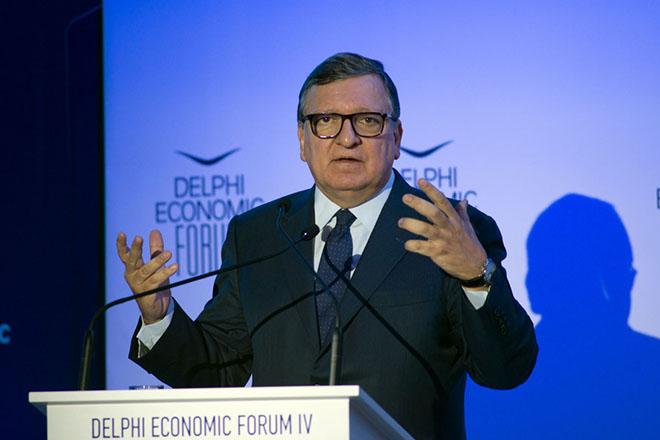 Μπαρόζο στο Delphi Economic Forum: Η νέα κυβέρνηση θα πρέπει να αποδείξει τη δεύσμεσή της στο πρόγραμμα μεταρρυθμίσεων