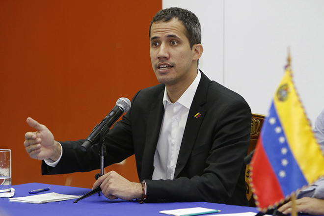 Venezuelan National Assembly leader Guaido announces his return to Venezuela and calls mobilizations