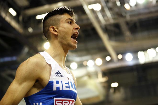 «Χρυσός» ο Μίλτος Τεντόγλου στο μήκος στο Ευρωπαϊκό Πρωτάθλημα κλειστού στίβου