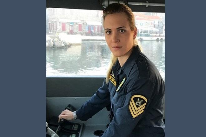 Μαρία Κόντη: Η μοναδική γυναίκα κυβερνήτης σκάφους στα ανατολικά σύνορα