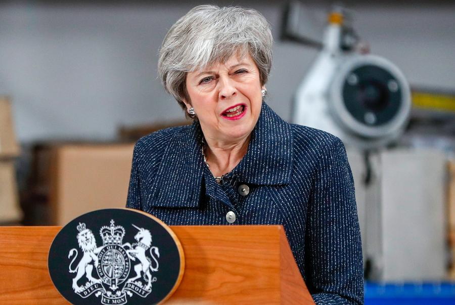 Μέι προς βουλευτές: Στηρίξτε τη συμφωνία του Brexit αλλιώς μπορεί να μην βγούμε ποτέ απ' την ΕΕ