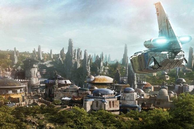 Μια πρώτη ματιά στο «Star Wars: Galaxy's Edge» της Disney