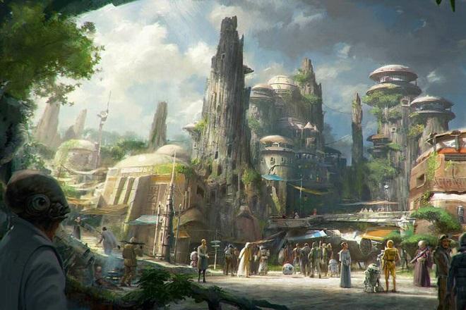 Ανακαλύψτε το δεύτερο θεματικό πάρκο Star Wars της Disney στο Ορλάντο