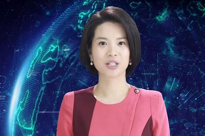 κινεζα παρουσιαστρια ρομποτ