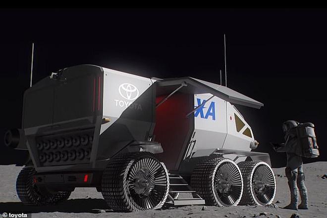 Ρόβερ - Πηγή JAXA-Toyota