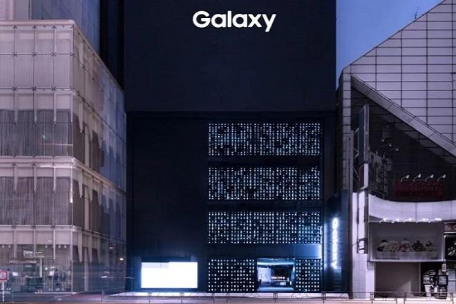 Galaxy Harajuku samsung images courtesy of tokujin yoshioka 1