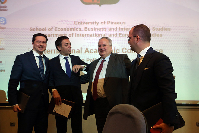Ντιμιτρόφ: Αυτό που κάναμε με τη Συμφωνία των Πρεσπών είναι η απόδειξη ότι φτιάχνουμε εμείς την Ιστορία