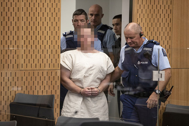 Aftermath of an attack that killed 49 people at mosques in Christchurch