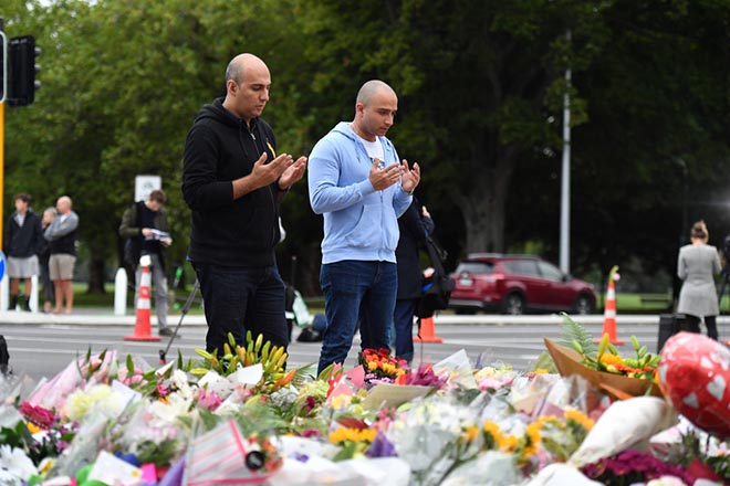 At least 49 people killed in terrorist attack on two mosques in Christchurch, New Zealand