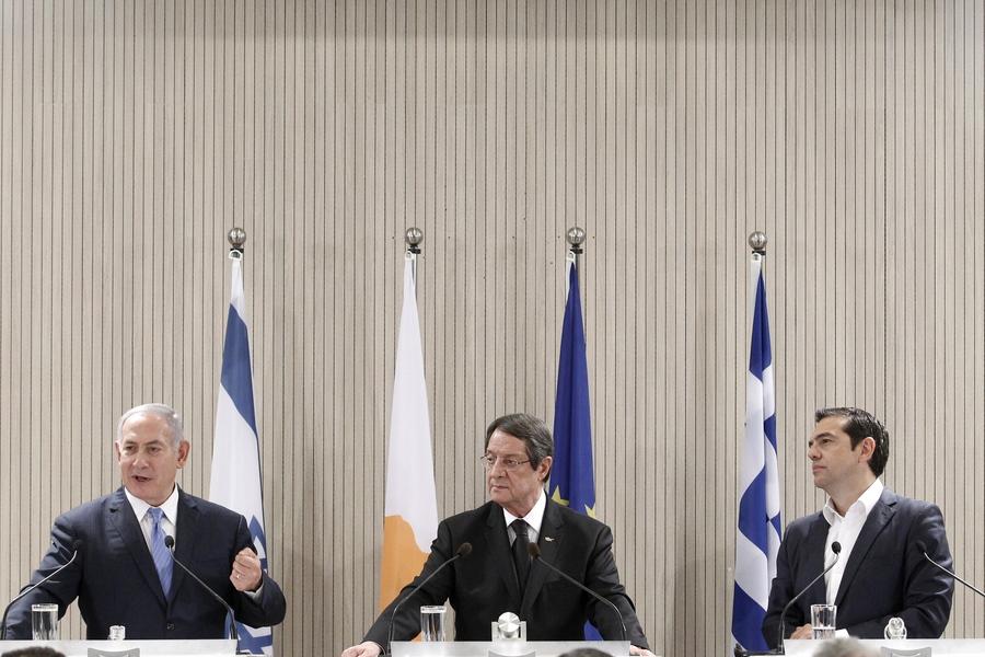 Κοινό μήνυμα Ελλάδας, Κύπρου, Ισραήλ και ΗΠΑ με αποδέκτη -και- την Τουρκία