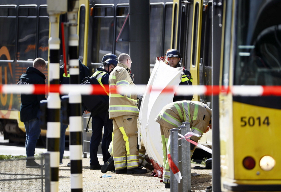 Several injured in shooting on a tram in Utrecht