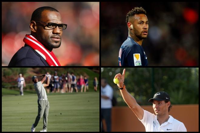 Αυτοί είναι οι δέκα πιο διάσημοι αθλητές στον κόσμο
