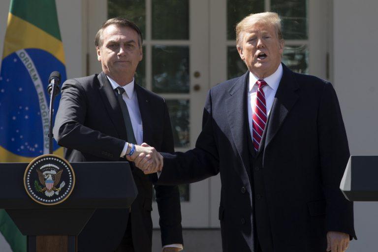 Την ένταξη της Βραζιλίας στο ΝΑΤΟ εξετάζει ο Τραμπ- Πώς αντιδρά η Ρωσία