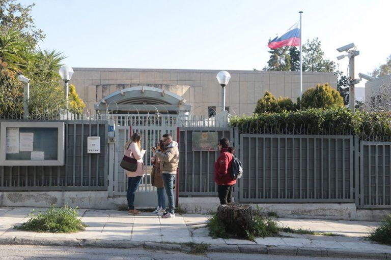 Έκρηξη χειροβομβίδας στο Ρωσικό Προξενείο στο Χαλάνδρι