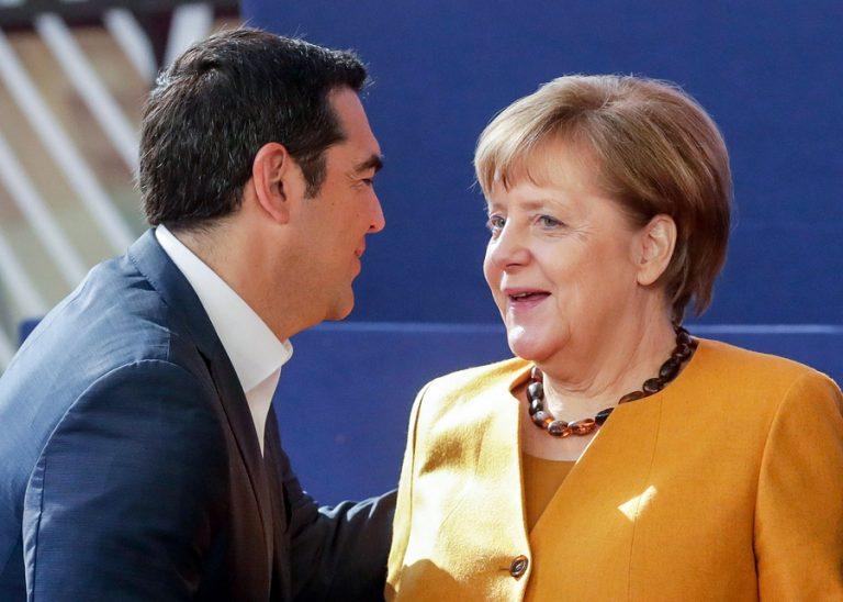 Γερμανικός Τύπος: Ο Αλέξης Τσίπρας αποχαιρετά την Άνγκελα Μέρκελ