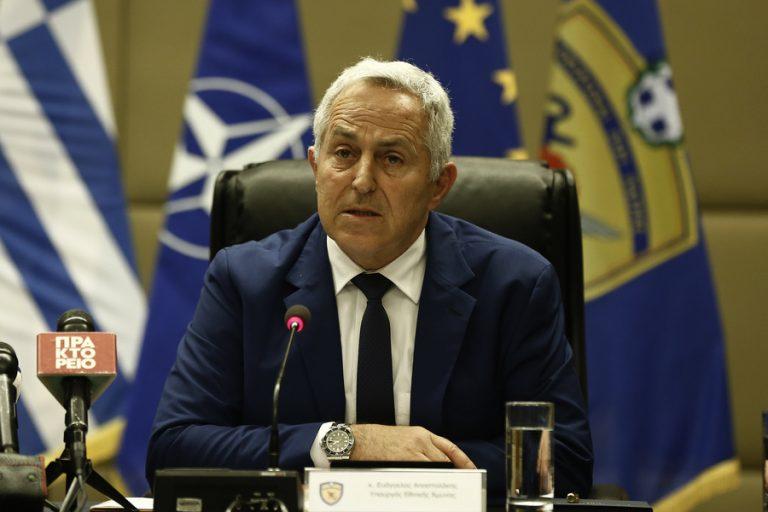 Το ζήτημα της Τουρκίας στην κυπριακή ΑΟΖ έθεσε o Υπουργός Άμυνας Ευ. Αποστολάκης